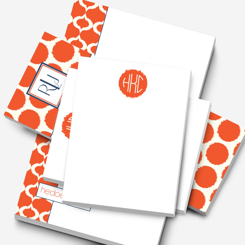 Ikat Personalized Notepad Gift Set