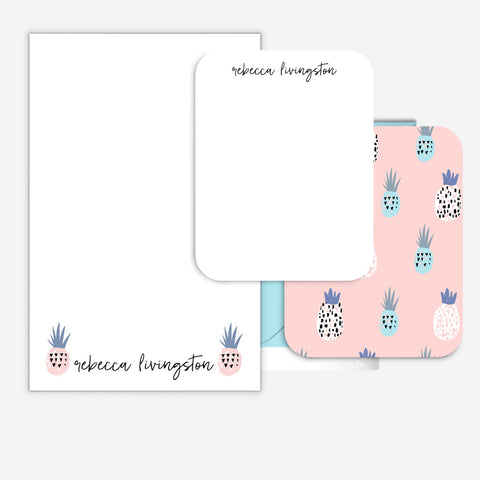 Pineapple for Dayz Stationery Set