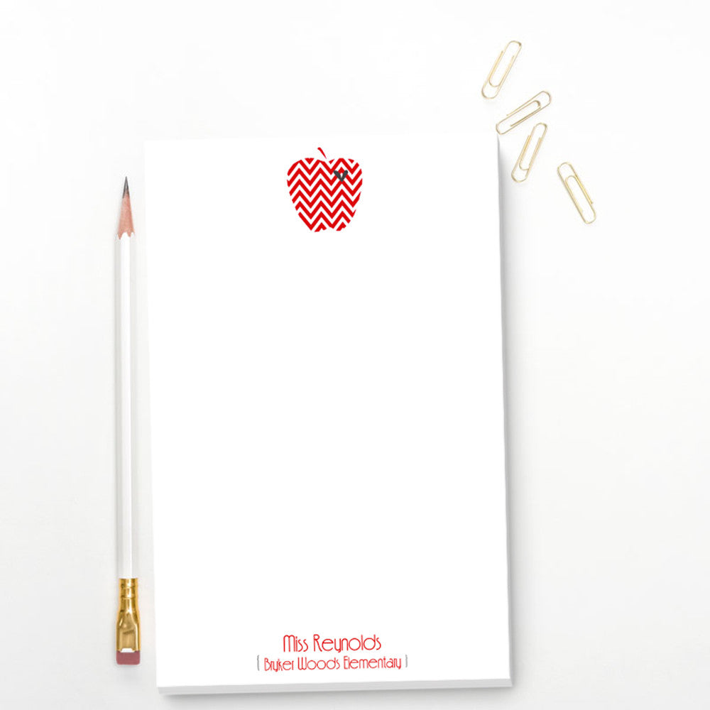 teacher notepad gift stationary