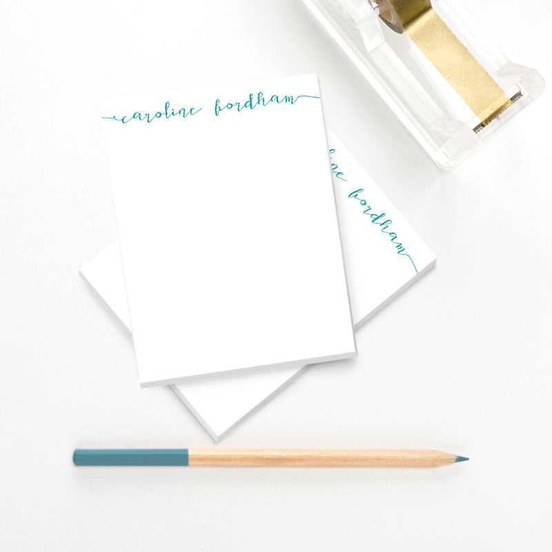 Calligraphy Personalized Notepad