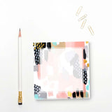 Square Blush Notepad