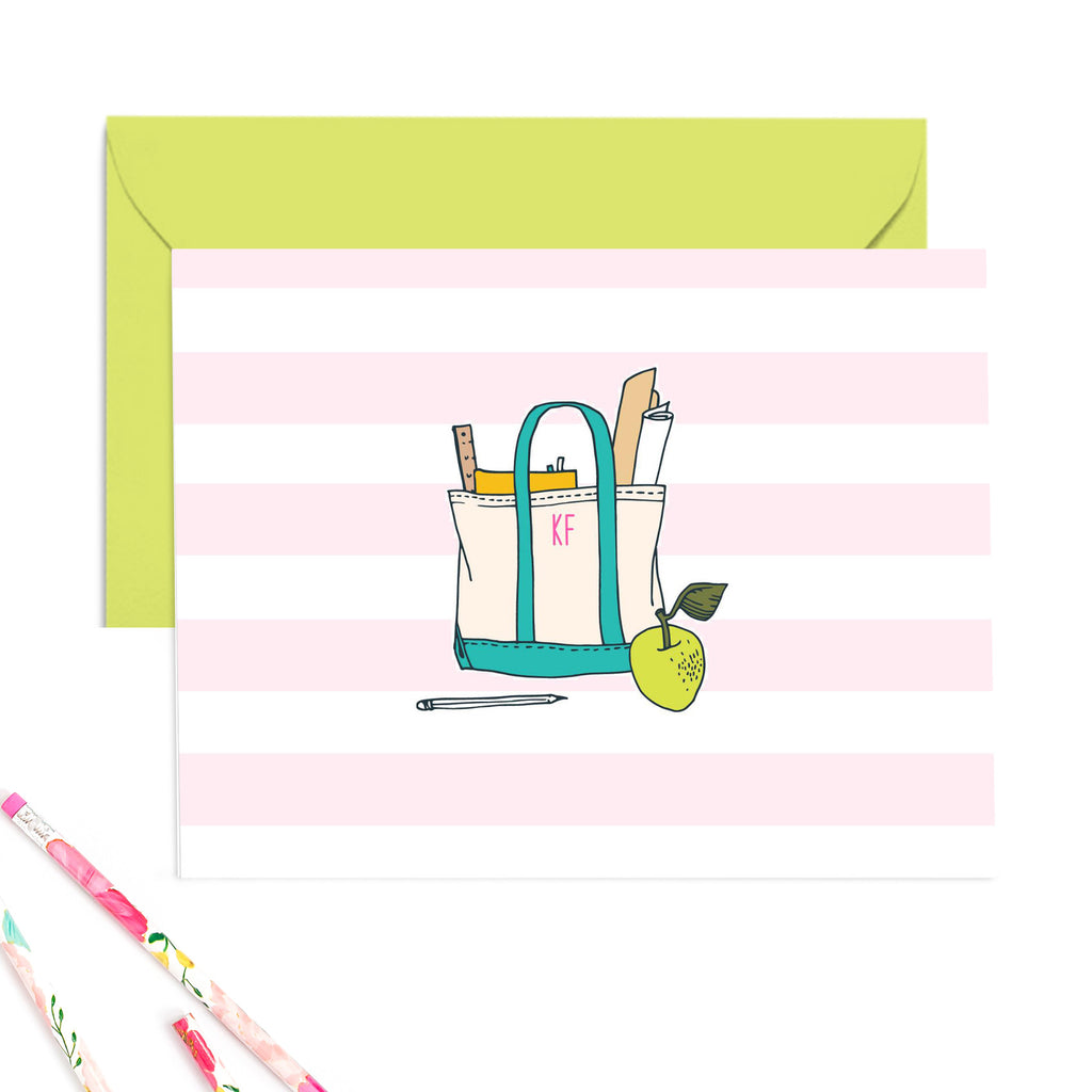 Teacher Tote Note Cards