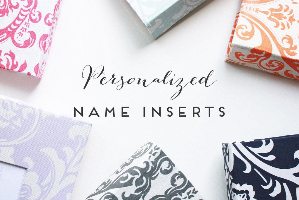 Personalized Name Inserts - Our Story Paper Co.