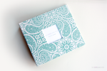 Teal Green Tibi Modern Baby Book - Our Story Paper Co.