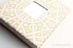 Yellow Galaxy Modern Baby Book - Our Story Paper Co.