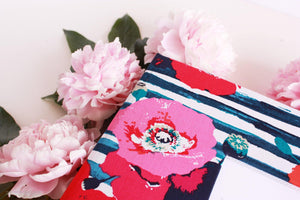 Vintage Rose with Indigo Blue Keepsake Album - Our Story Paper Co.