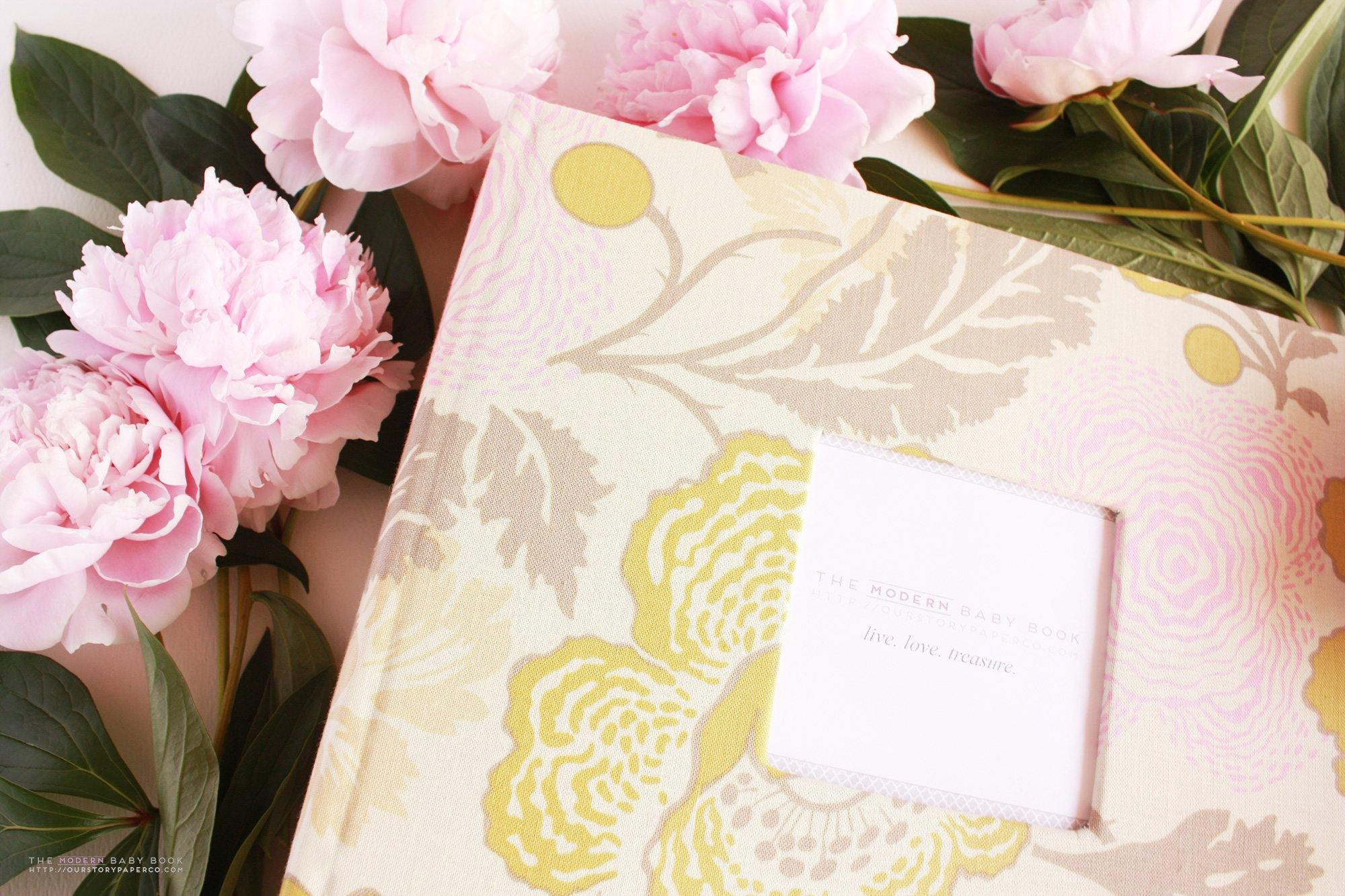 Peony Floral Keepsake Album - Our Story Paper Co.