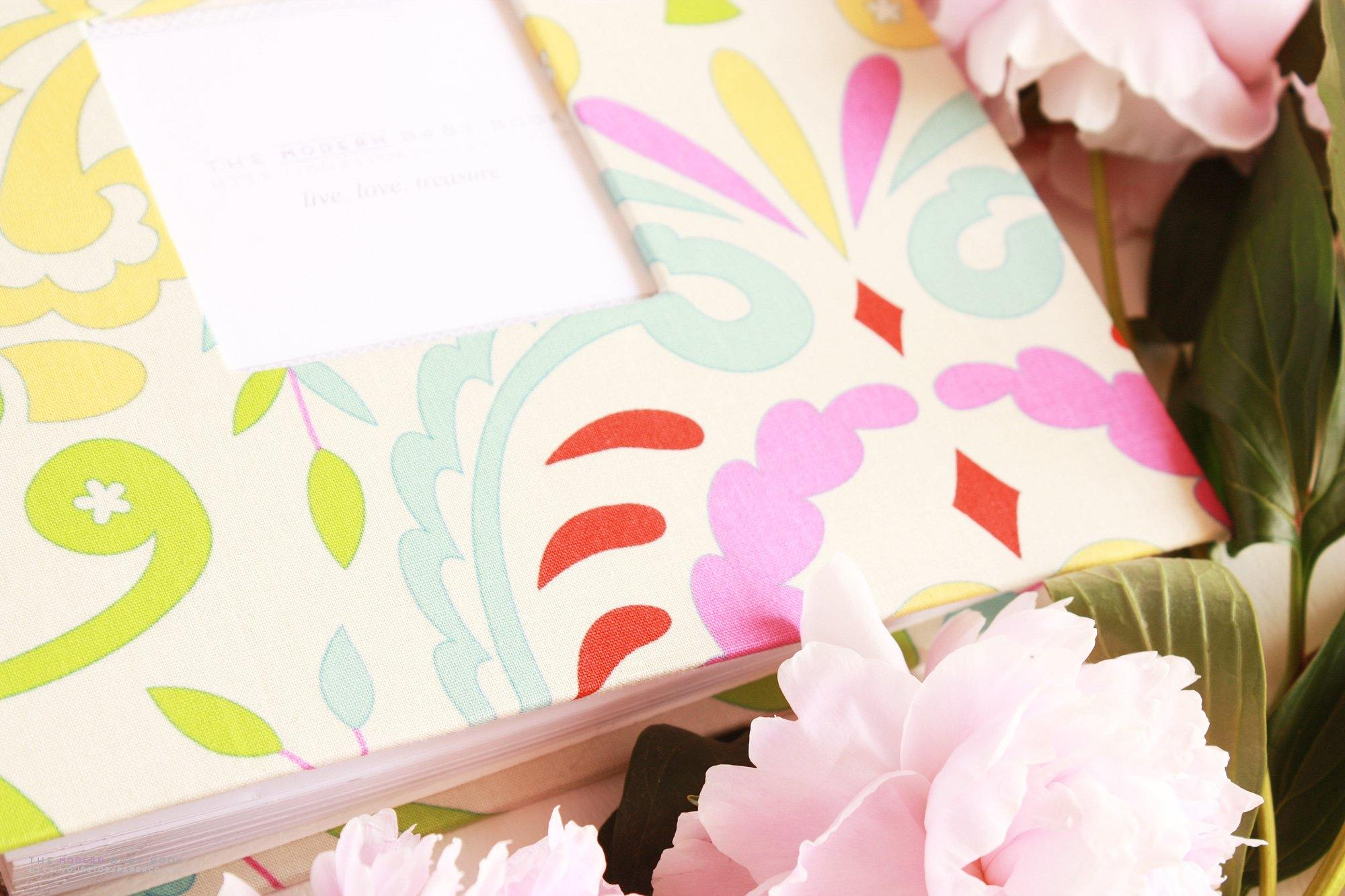 Kumari Fresh Garden Modern Baby Book - Our Story Paper Co.