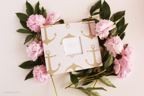 Gold Anchor Album - Our Story Paper Co.