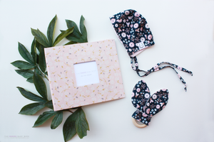 Season's Waltz Modern Baby Book - Our Story Paper Co.