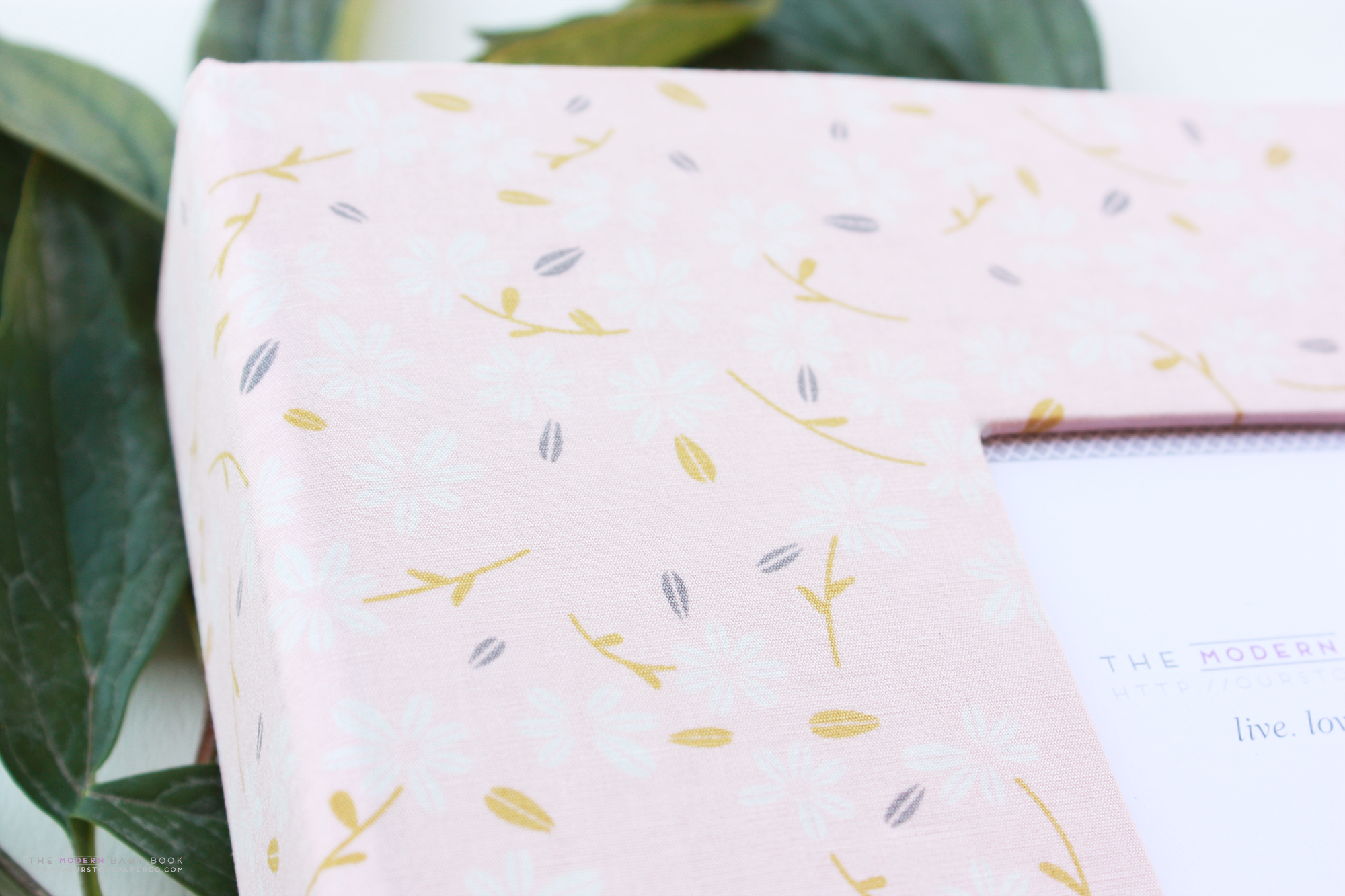 Season's Waltz Floral Keepsake Album - Our Story Paper Co.