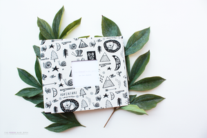 Forest Dreaming Modern Baby Book - Our Story Paper Co.