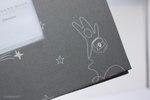 Grey Space Dreaming Keepsake Album - Our Story Paper Co.
