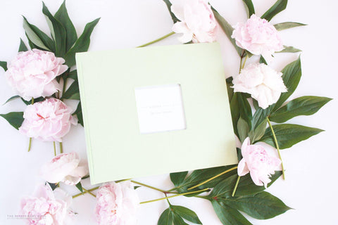 Pastel Green Album - Our Story Paper Co.