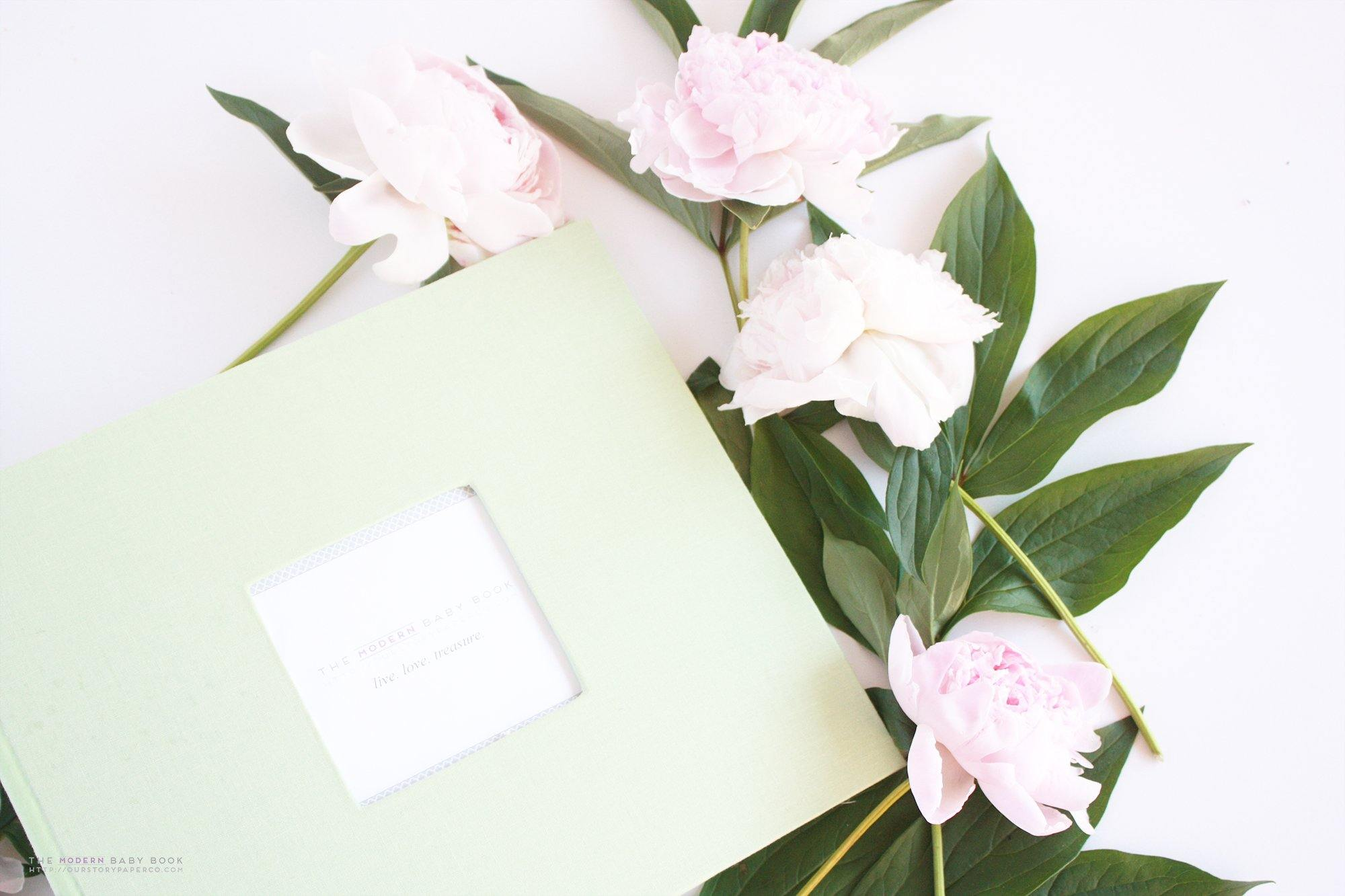 Pastel Green Keepsake Album - Our Story Paper Co.