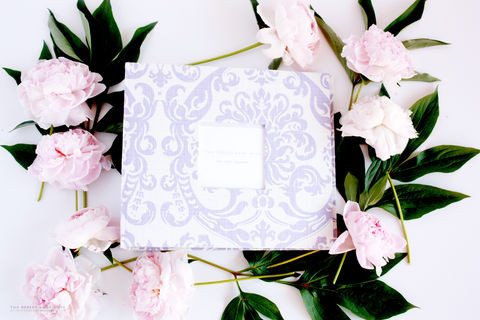 Lavender Damask Album - Our Story Paper Co.