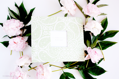 Mint Green Tibi Album - Our Story Paper Co.