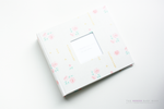 Pale Rose with Gold Modern Baby Book - Our Story Paper Co.