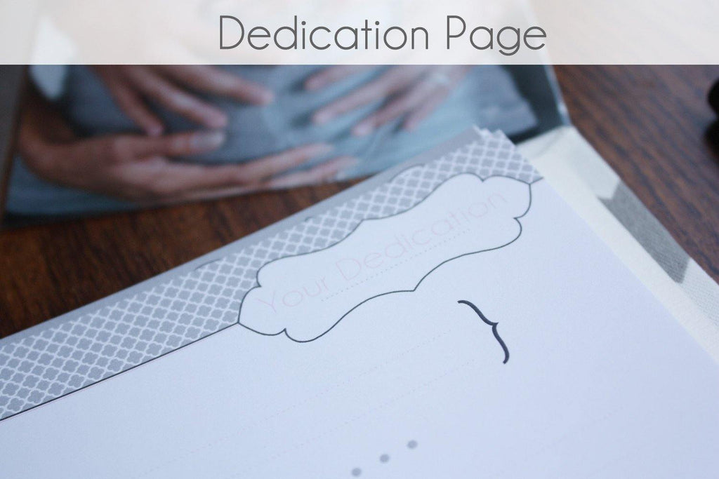 Dedications Page