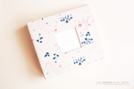 Paperie Gardens Modern Baby Book - Our Story Paper Co.