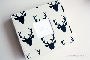 Hello Buck Modern Baby Book - Our Story Paper Co.