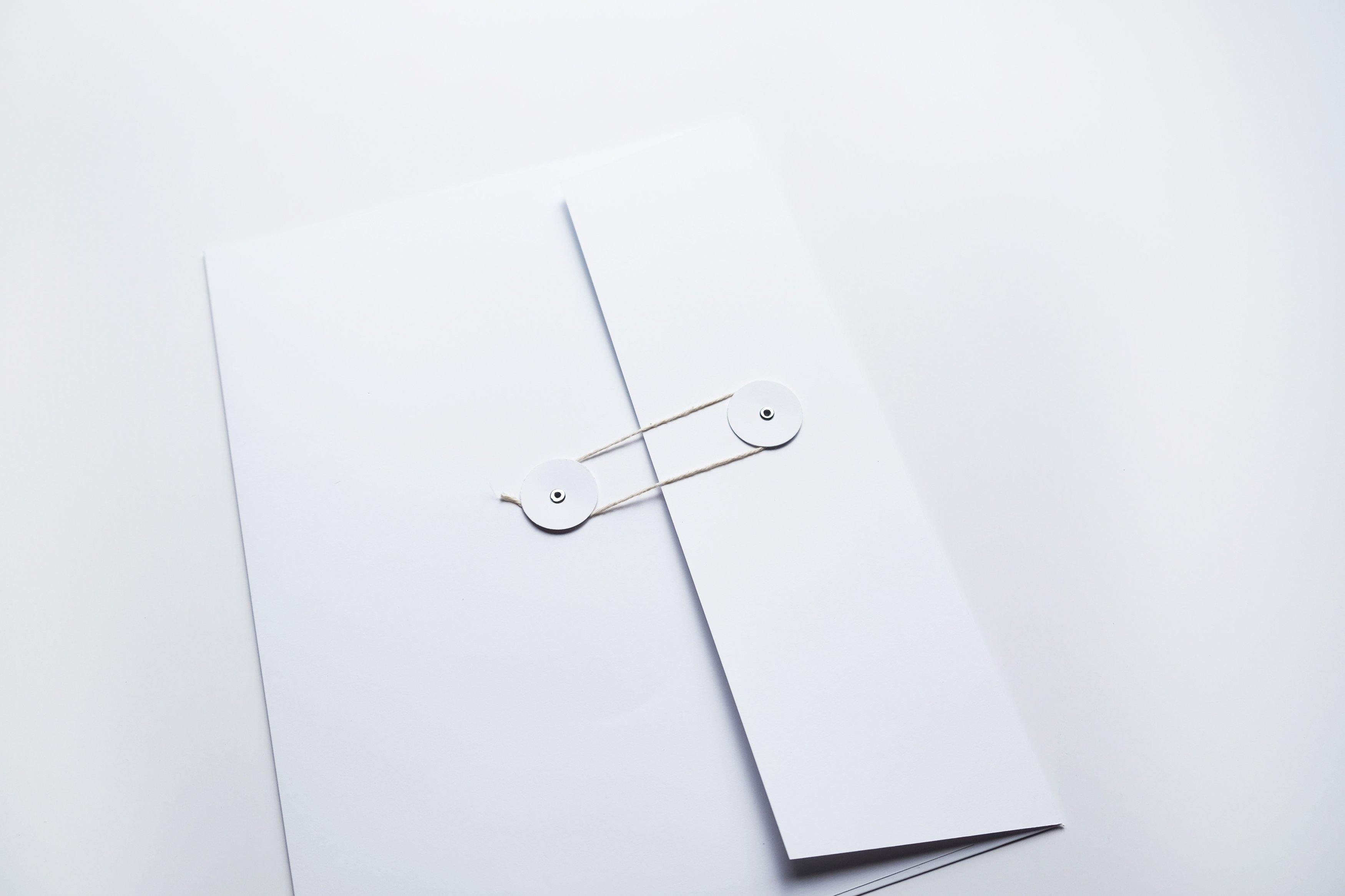 keepsake envelope - Our Story Paper Co.