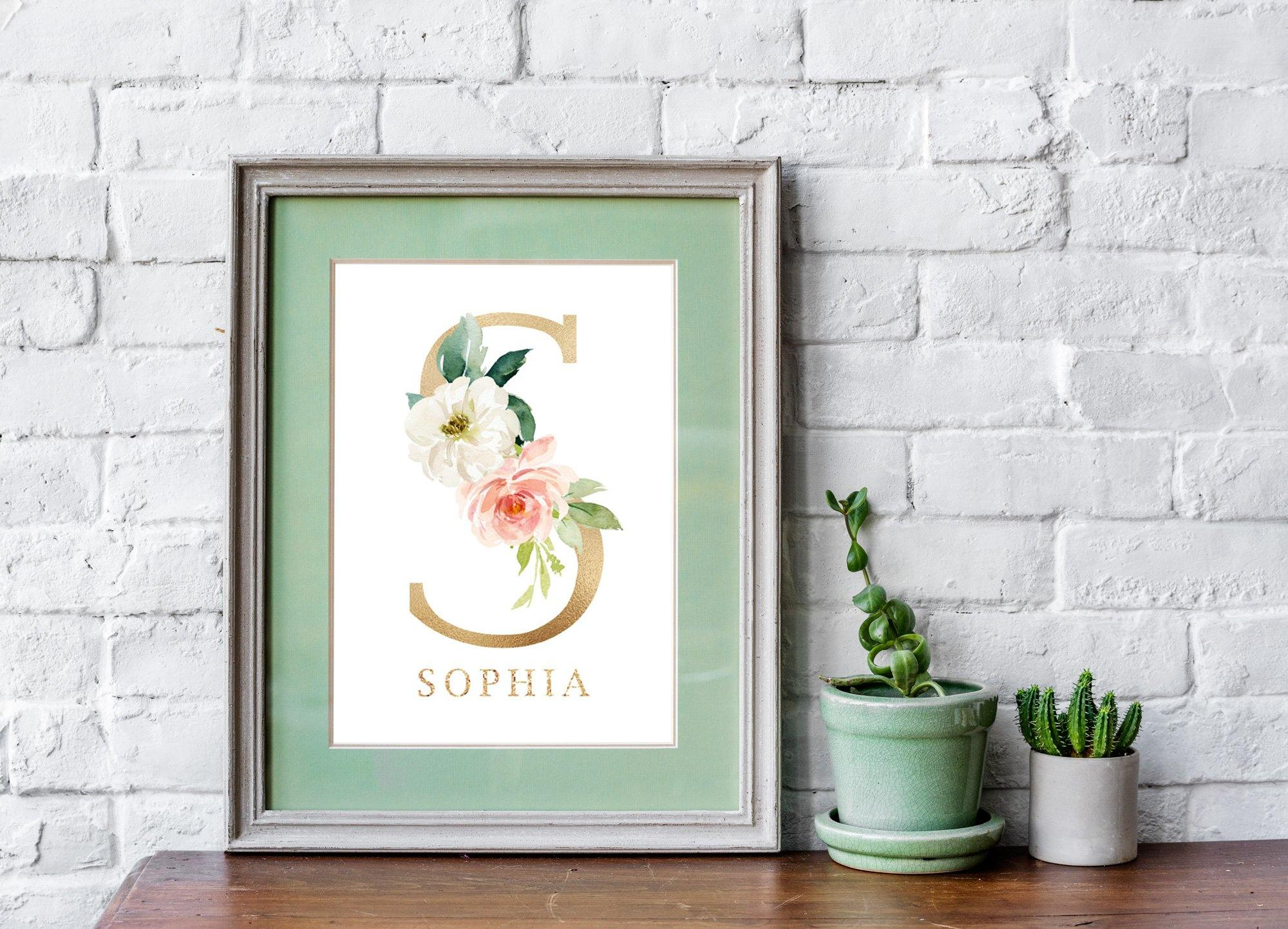 Set of 3 Watercolor Boho Nursery Prints - Our Story Paper Co.