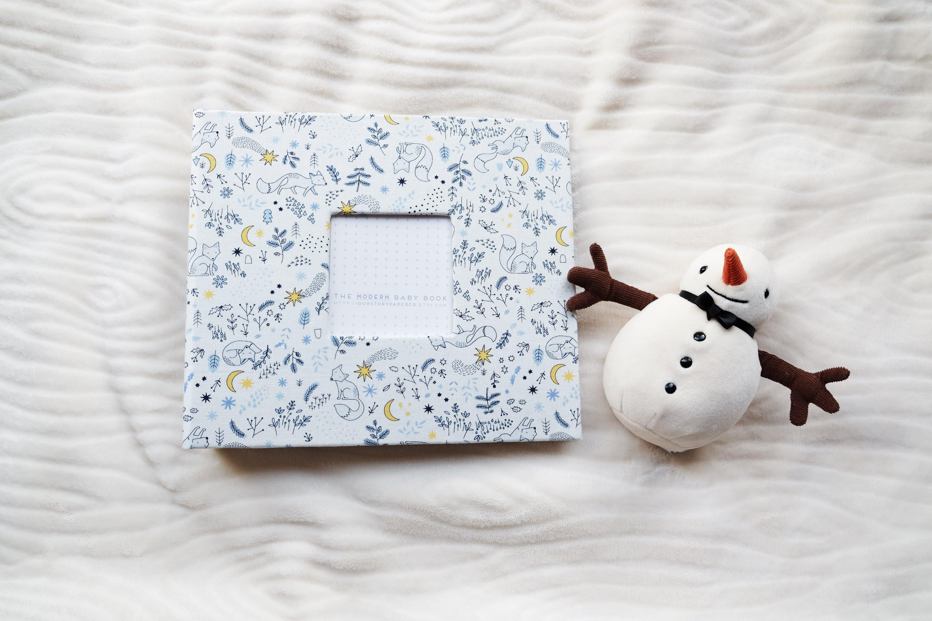 Woodland Dreams Modern Baby Book - Our Story Paper Co.