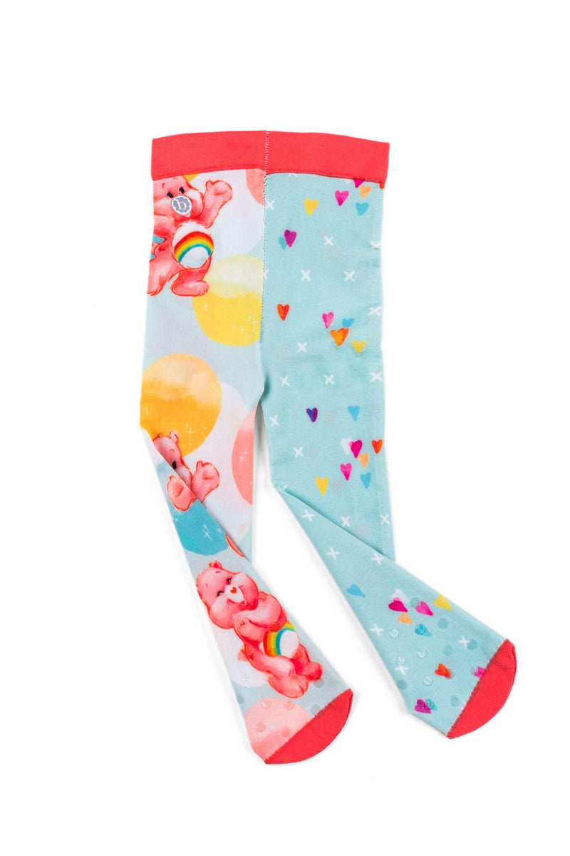 Printed Tights Care Bears: Pastel Bubble – Baby Bling Bows