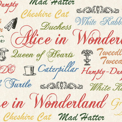 Adventures in Wonderland Character Names White