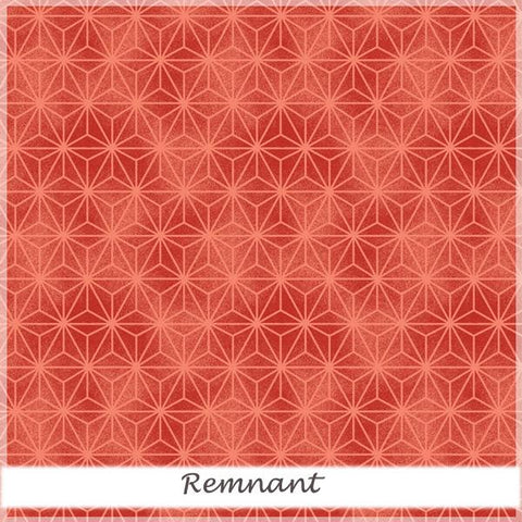 Akahana 25822 Red Geometric Tonal