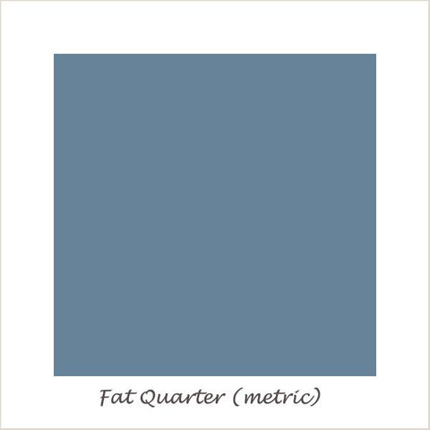 Devonstone Collection DC Solids Steel Blue Fat Quarter