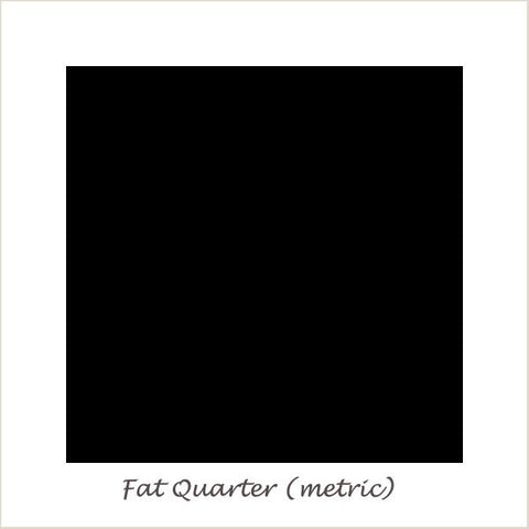 Devonstone Collection DC Solids Deep Black Fat Quarter