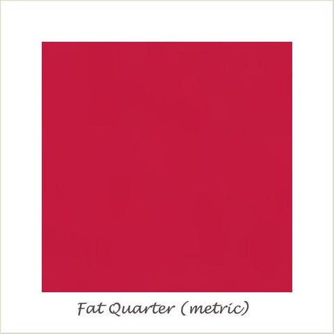 Devonstone Collection DC Solids Red Fat Quarter