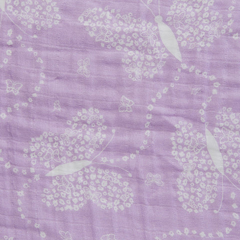 Embrace **Double Gauze**  Flowerfly Lilac