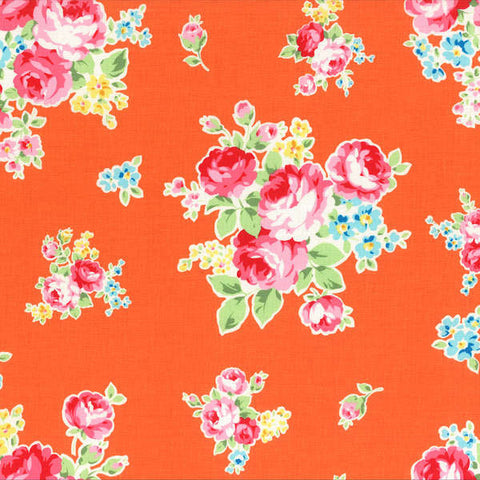 Flower Sugar Spring 2014  MediumFloral Bouquet Orange