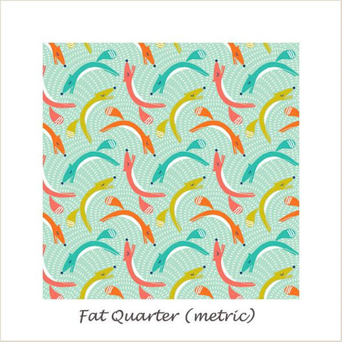 Fablewood  Leaping Foxes Fat Quarter