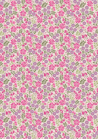 Flo's-Little-Flowers-Floral-Leaves-on-Pink