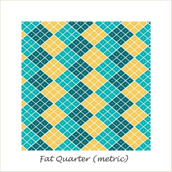 Indie Chic Checkers Multi Fat Quarter