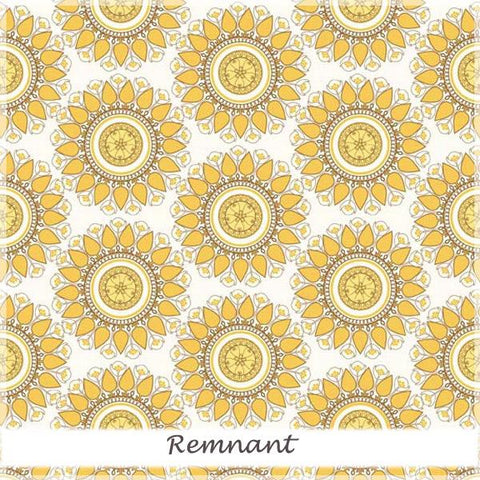 Indie Chic Circle Yellow