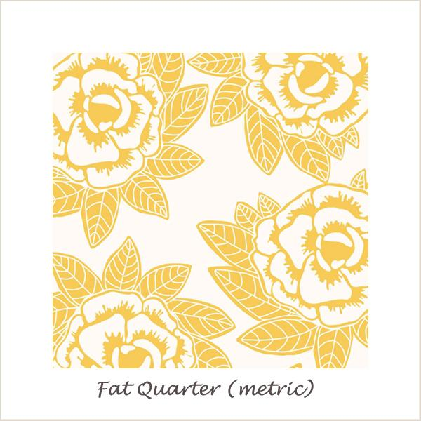 Indie Chic Main Yellow Fat Quarter
