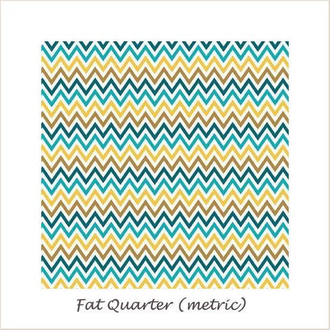 Indie Chic Zig Zag Multi Fat Quarter