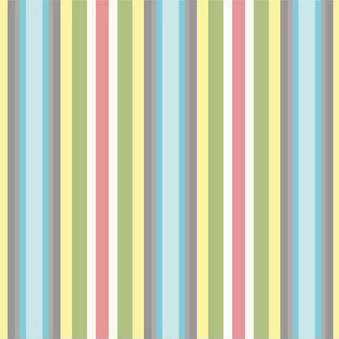 Priscilla Stripe - green