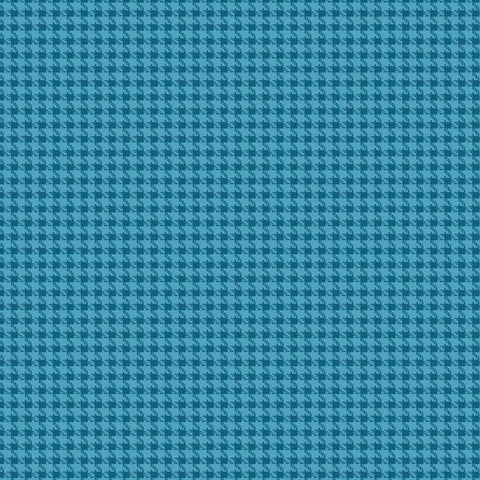 Roundup  Cowboy Houndstooth Blue