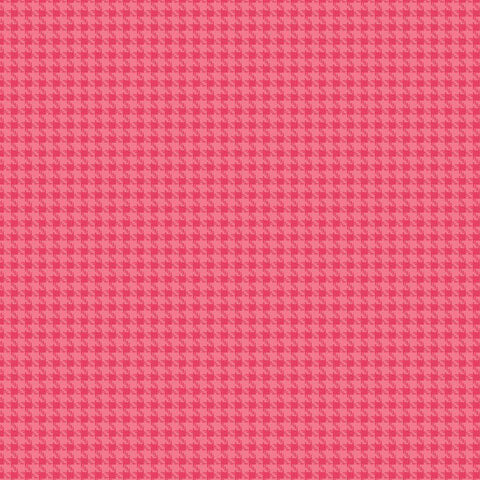 Roundup  Cowboy Houndstooth Pink