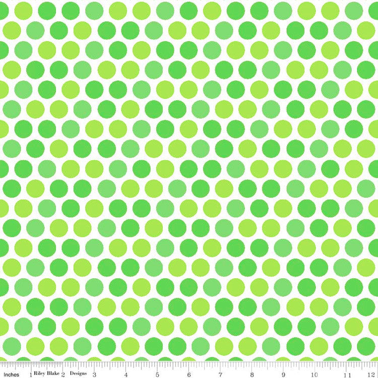 Santa-Express-Dots-Green