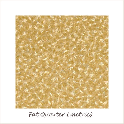 Shades of the Season Metallic Hash Tan 16046-13 Fat Quarter