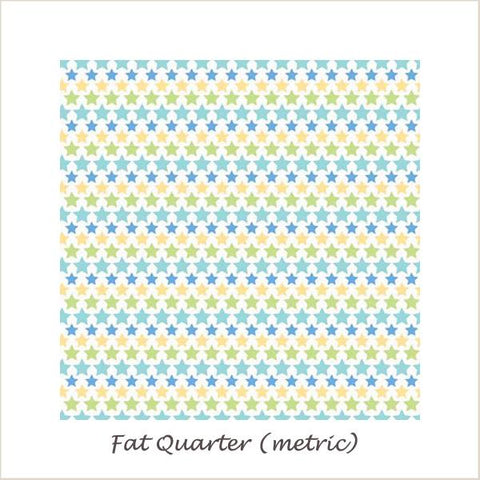 Snips & Snails Stars Multi Fat Quarter