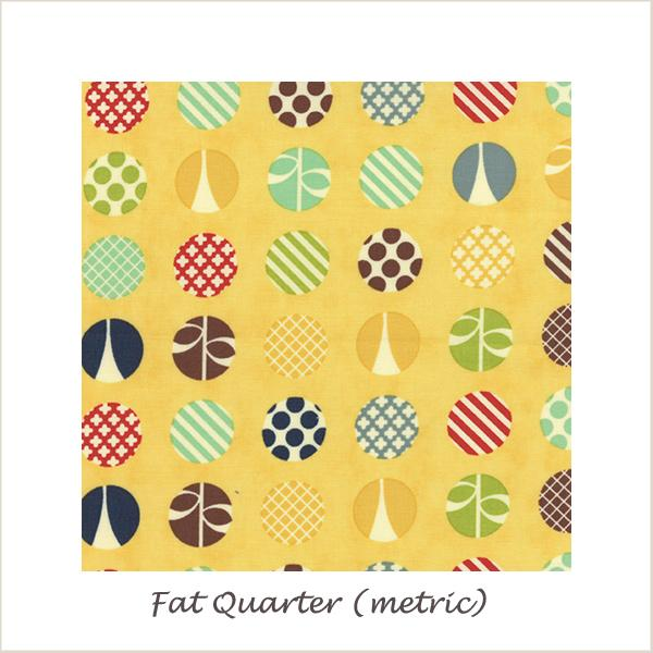 Social Club  Dots Lemon 37093-16 Fat Quarter