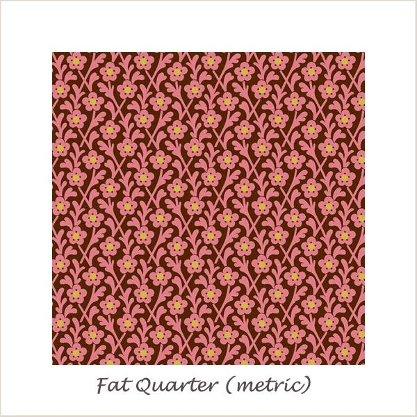The Star of Bethleham 26500 Small Flowers Fat Quarter